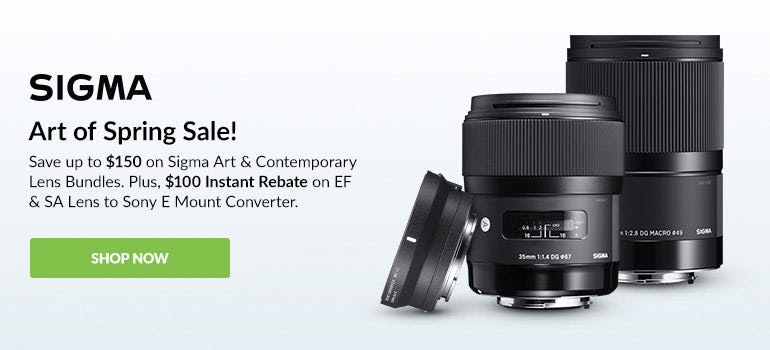 Sigma Art Of Spring Sale