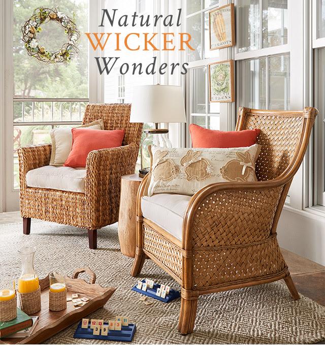 Natural Wicker Wonders