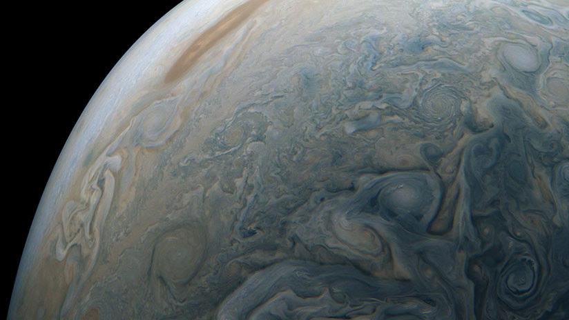FOTO: La sonda espacial Juno de la NASA fotografía un