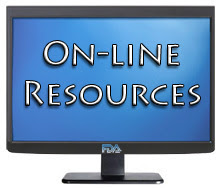 Resources on computer screen