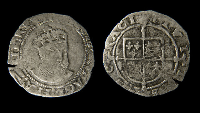 Henry VIII silver coin