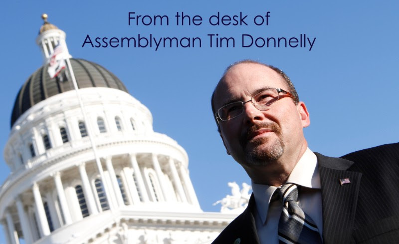 From the desk of Tim Donnelly