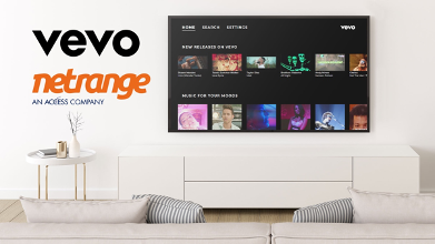 Vevo expands global reach through partnership with NetRange that further accelerates the app driven renaissance of Music on the TV.png