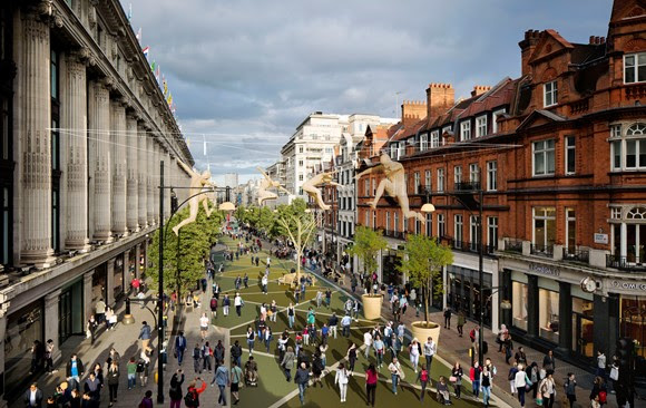 TfL Press Release - Oxford Street transformation consultation results have been published