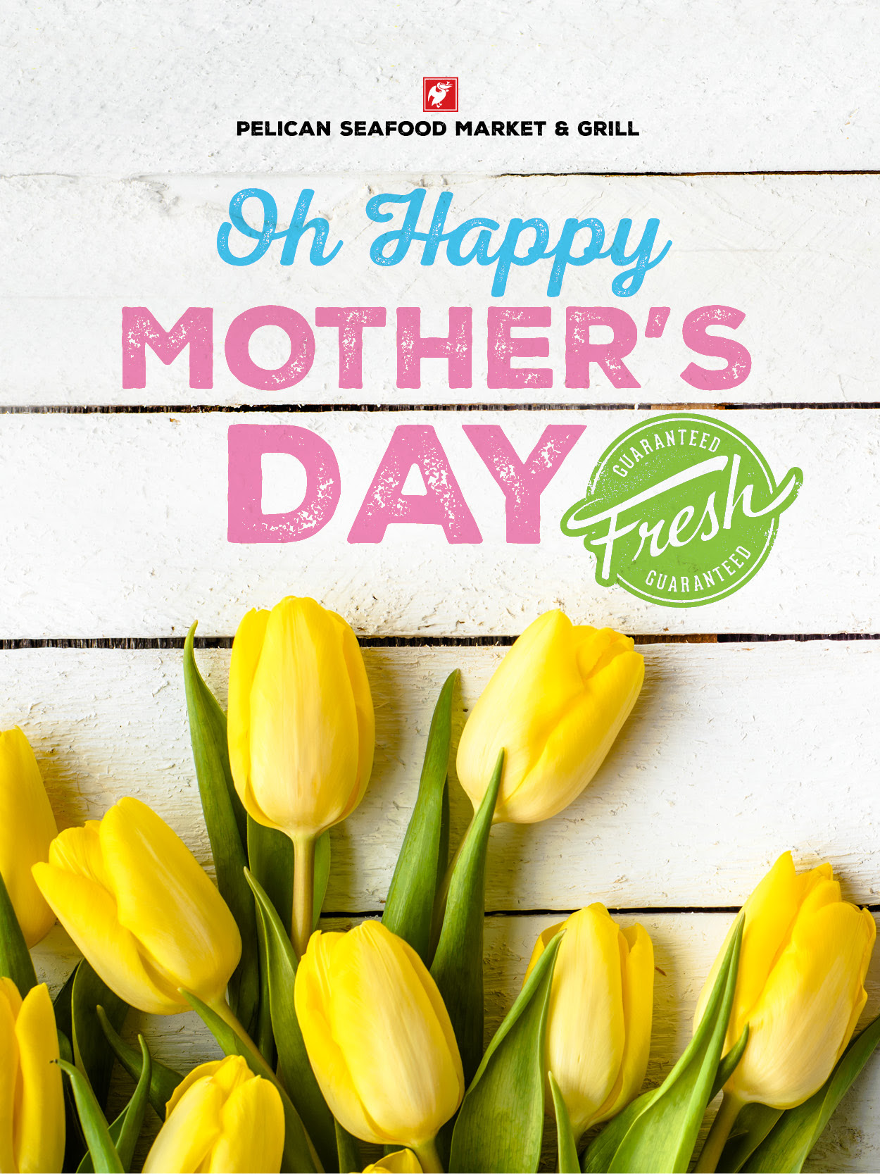Happy Mother's Day with Tagline