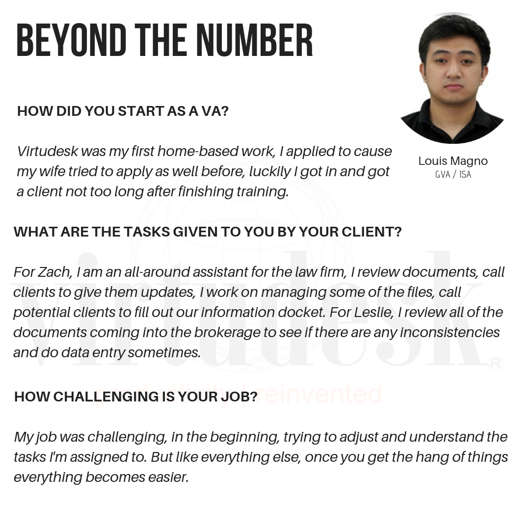 Beyond The Number: Featured Agent