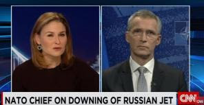 δημοσιογράφος του CNN στρίμωξε τον ΓΓ του ΝΑΤΟ με τα tweet του Τσίπρα
