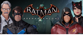 BATMAN ARKHAM KNIGHT FIGURES