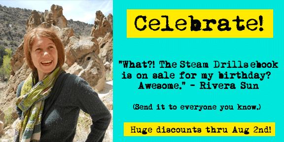 99 Cent Ebook Today! Steam Drills by Rivera Sun