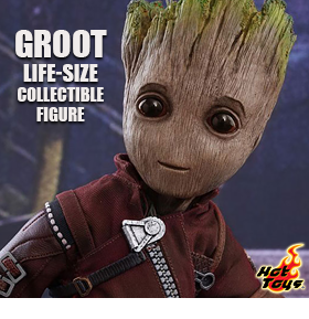 Guardians of the Galaxy Vol. 2 LMS004 Groot Life-Size Collectible Figure