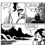 """Extrait de la bande dessinée """"Les sentiers du Nirvana"""", scénario et dessin Mark Hendriks, Warum. (Copyright : Warum)"""