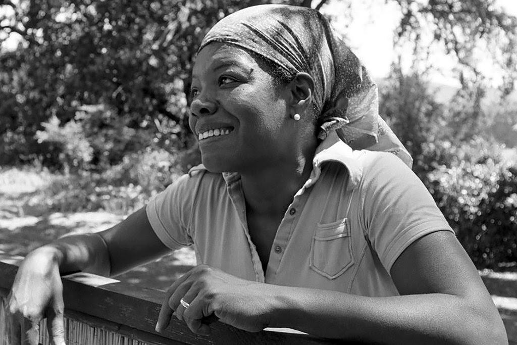 Maya Angelou in 1974.