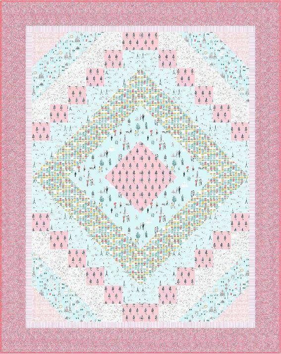 dear stella-cheerful-published pattern-Diane McGegor