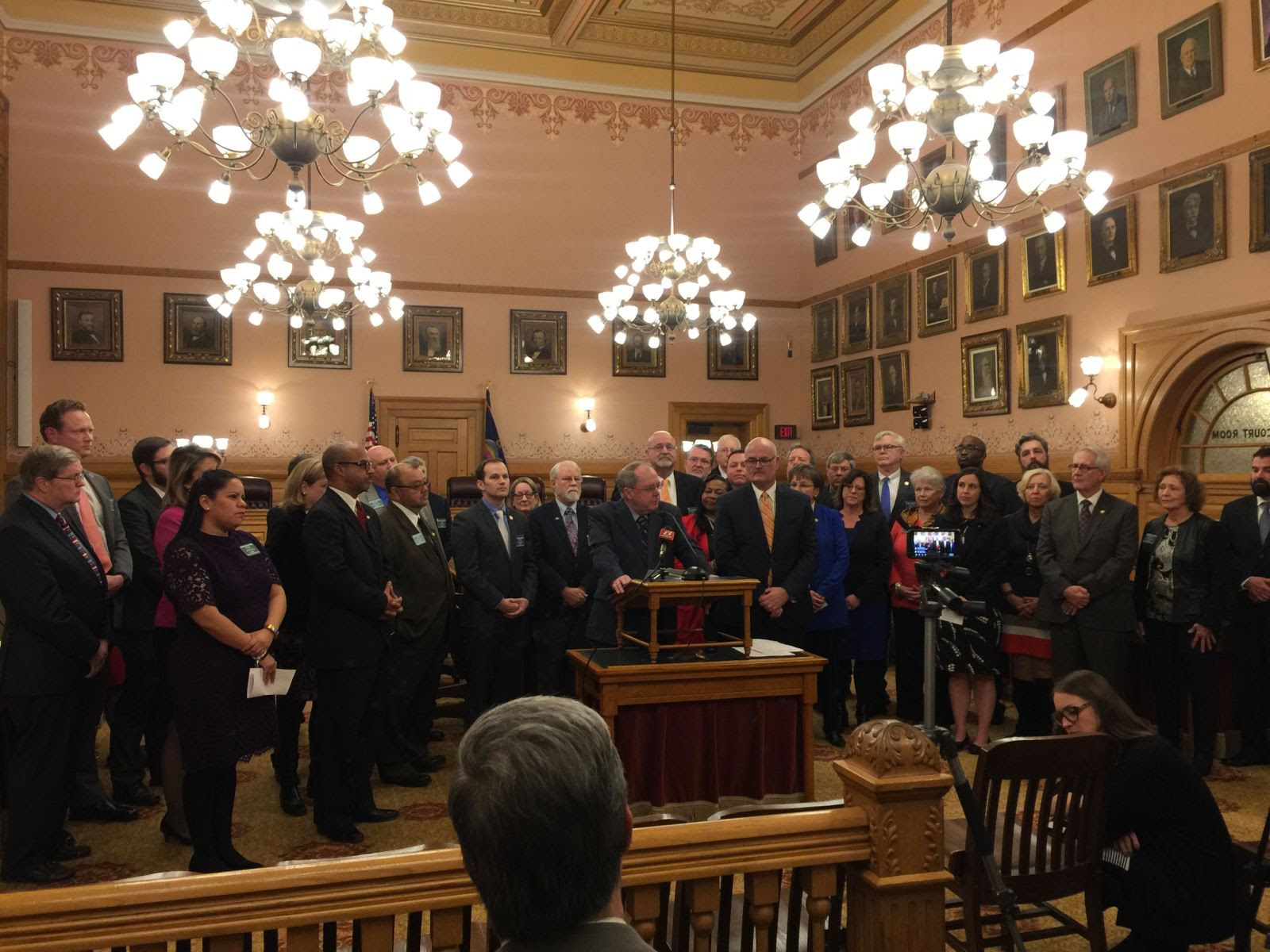 Kansas Senate and House Democrats respond to State of the State.
