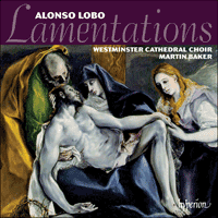 CDA68106 - Lobo: Lamentations & other sacred music