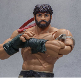 Street Fighter V Hot Ryu 1/12 Scale SDCC 2017 Exclusive Figure