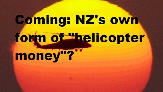 Helicopter Money Coming Your Way