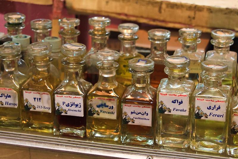 Духи на разлив. Иран