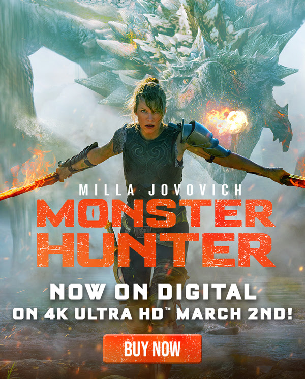 The wait is 🔥 O V E R 🔥! Monster Hunter is now on DIGITAL!