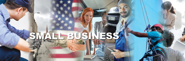 small business team banner