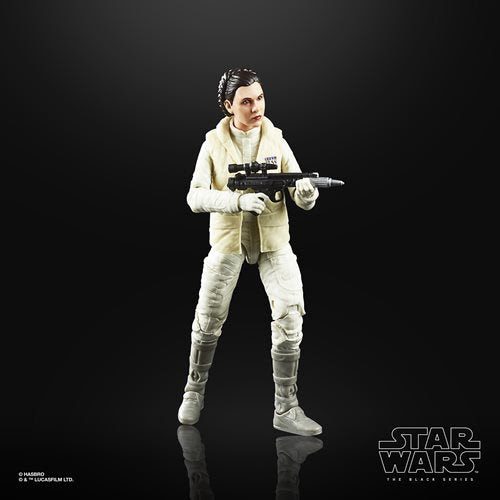 Image of Star Wars The Black Series Empire Strikes Back 40th Anniversary 6-Inch Princess Leia Hoth Action Figure Wave 1 - MAY 2020
