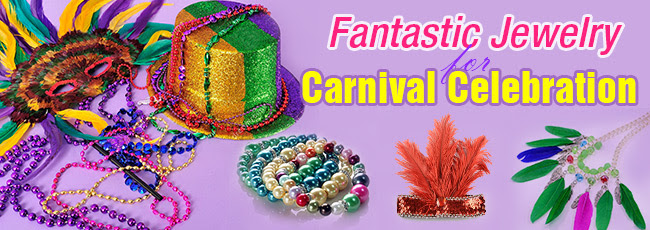 Fantastic Jewelry for Carnival...