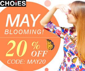 May Flower Moda 20% Off