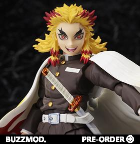 Demon Slayer: Kimetsu no Yaiba The Movie: Mugen Train BUZZmod. Rengoku Kyojuro 1/12 Scale Figure