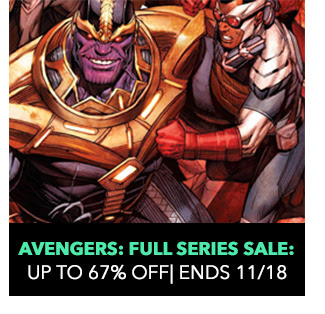 Avengers: Full Series Sale: up to 67% off! Sale ends 11/18.