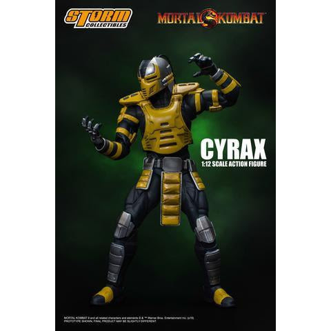Image of Mortal Kombat Cyrax 1:12 Scale Action Figure - NOVEMBER 2019