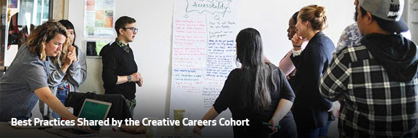 New Creative Careers Cohort Blog Post!