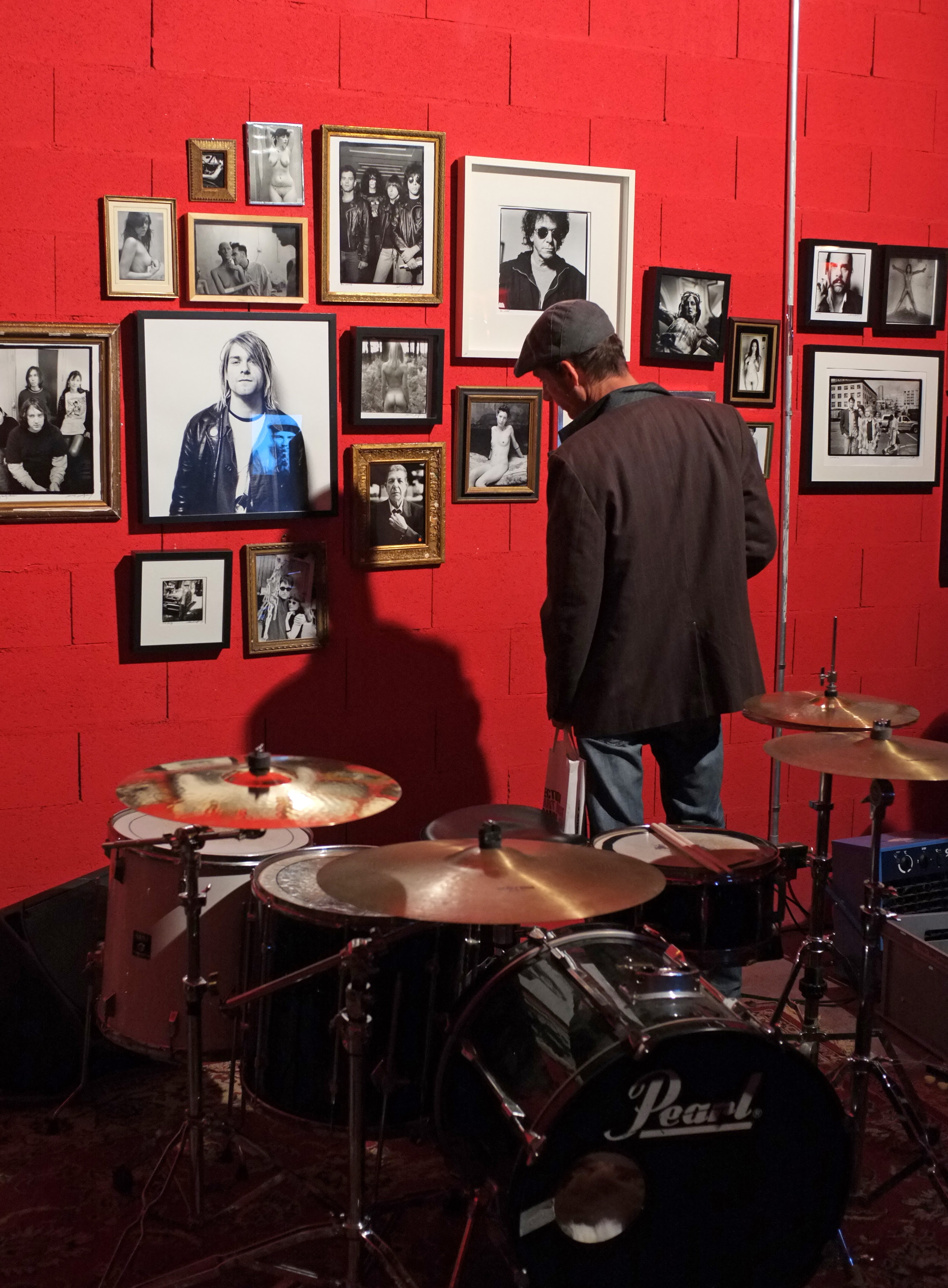 Exposition Rock'n'Roll Icons and Nudes par Renaud Monfourny © Cédric Tournier