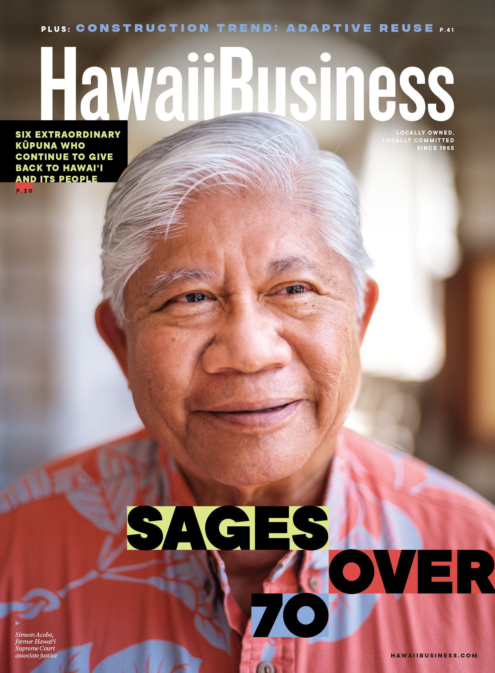Click here to get your copy of Hawaii Business' September 2021 issue!