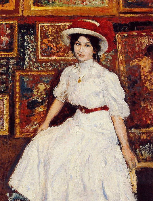 Young_Girl_in_White__1907 (532x700, 547Kb)