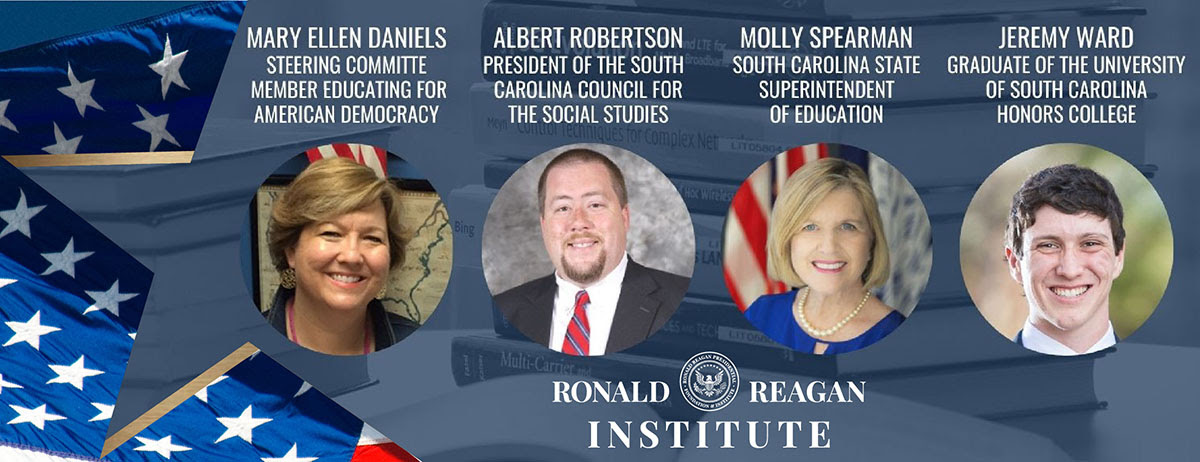 """The Reagan Institute for """"The State of Civics: South Carolina."""