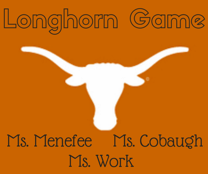 2018 Longhorn Game Auction Item