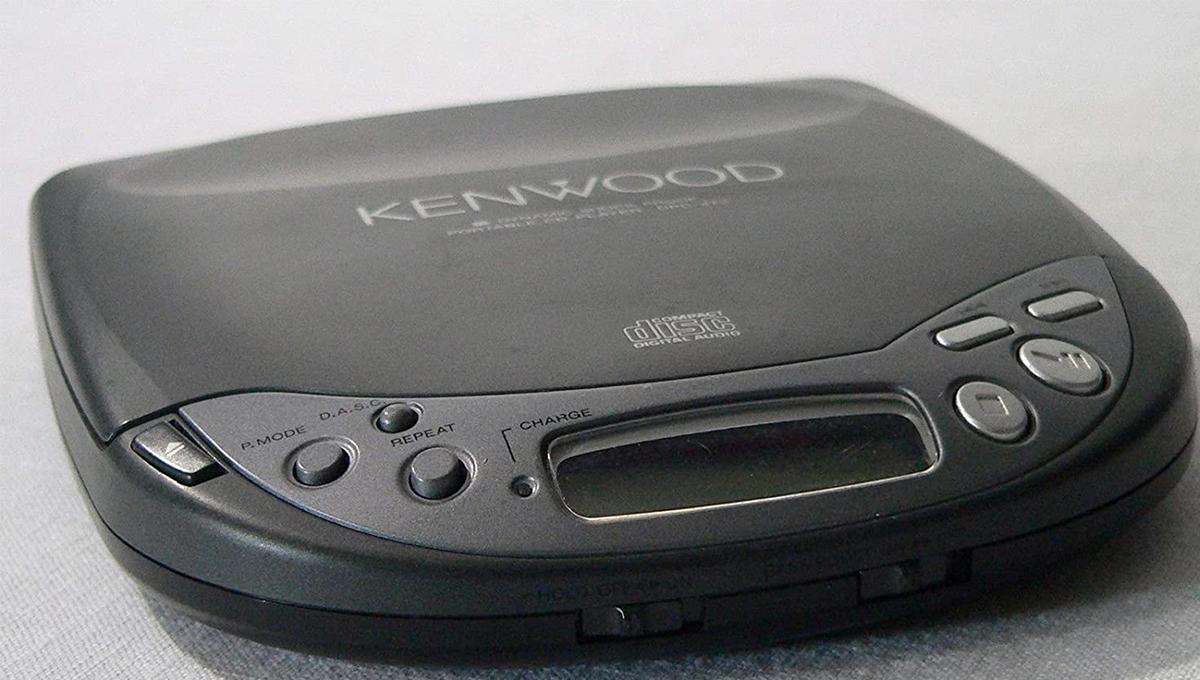 Kenwood portable CD player