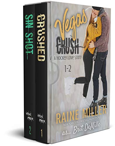 Cover for 'Vegas Crush Box Set (A Hockey Love Story Books 1-2)'