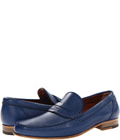 See  image A. Testoni  Deer Leather Penny Loafer