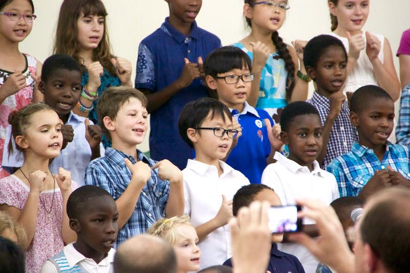 초등학교 부활절 찬양