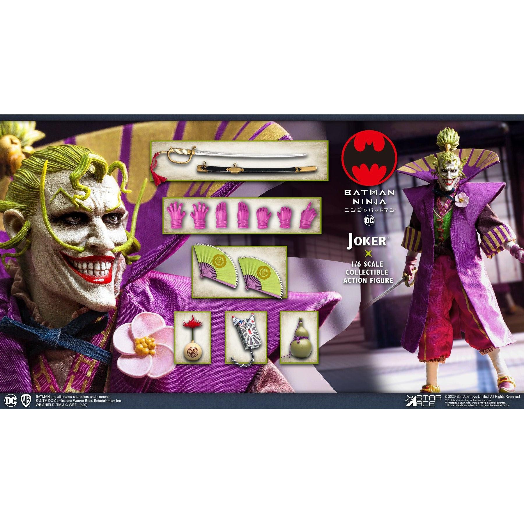 Image of Batman Ninja Joker 1:6 Scale Action Figure - MARCH 2021