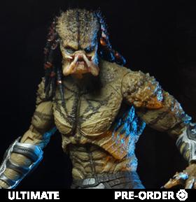 The Predator Ultimate Assassin Predator (Unarmored) Deluxe Figure