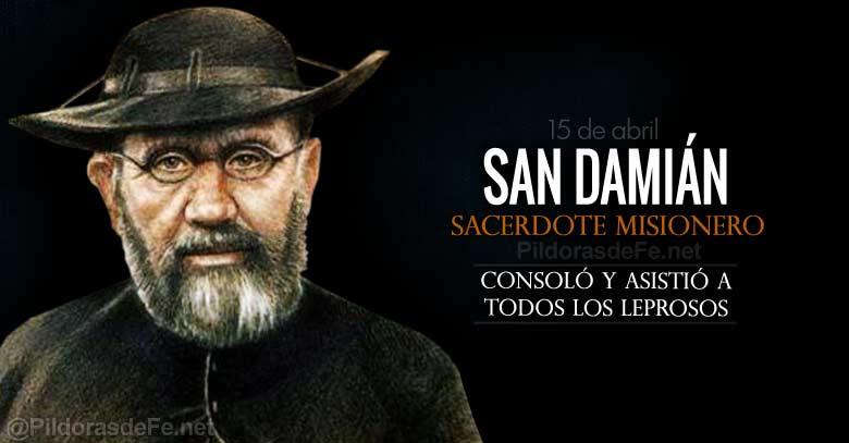 san damian de molokai sacerdote misionero que ayudo a los leprosos