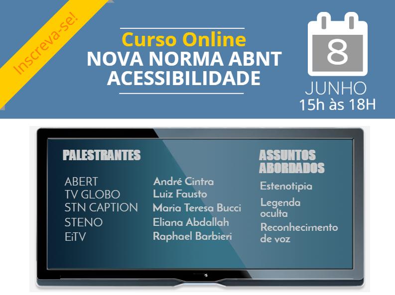 EAD Acessibilidade normas ABNT 08.06