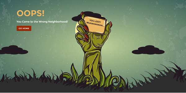Have Fun With an Animated Zombie 404