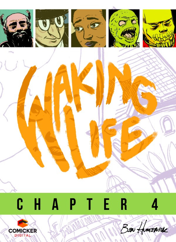 Waking Life #4 Cover