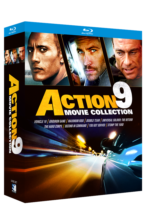 Action 9 Movie Bundle – Blu-ray