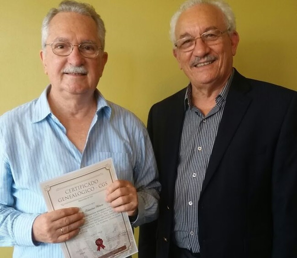 Henrique Sérgio e Assis Arruda investiram meses de pesquisa para comprovar a ascendência em judeus expulsos da Europa (Foto: Assis Arruda/Arquivo pessoal)
