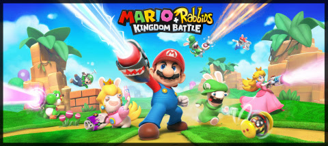 The Mario + Rabbids Kingdom Battle game will be available exclusively on the Nintendo Switch console ...