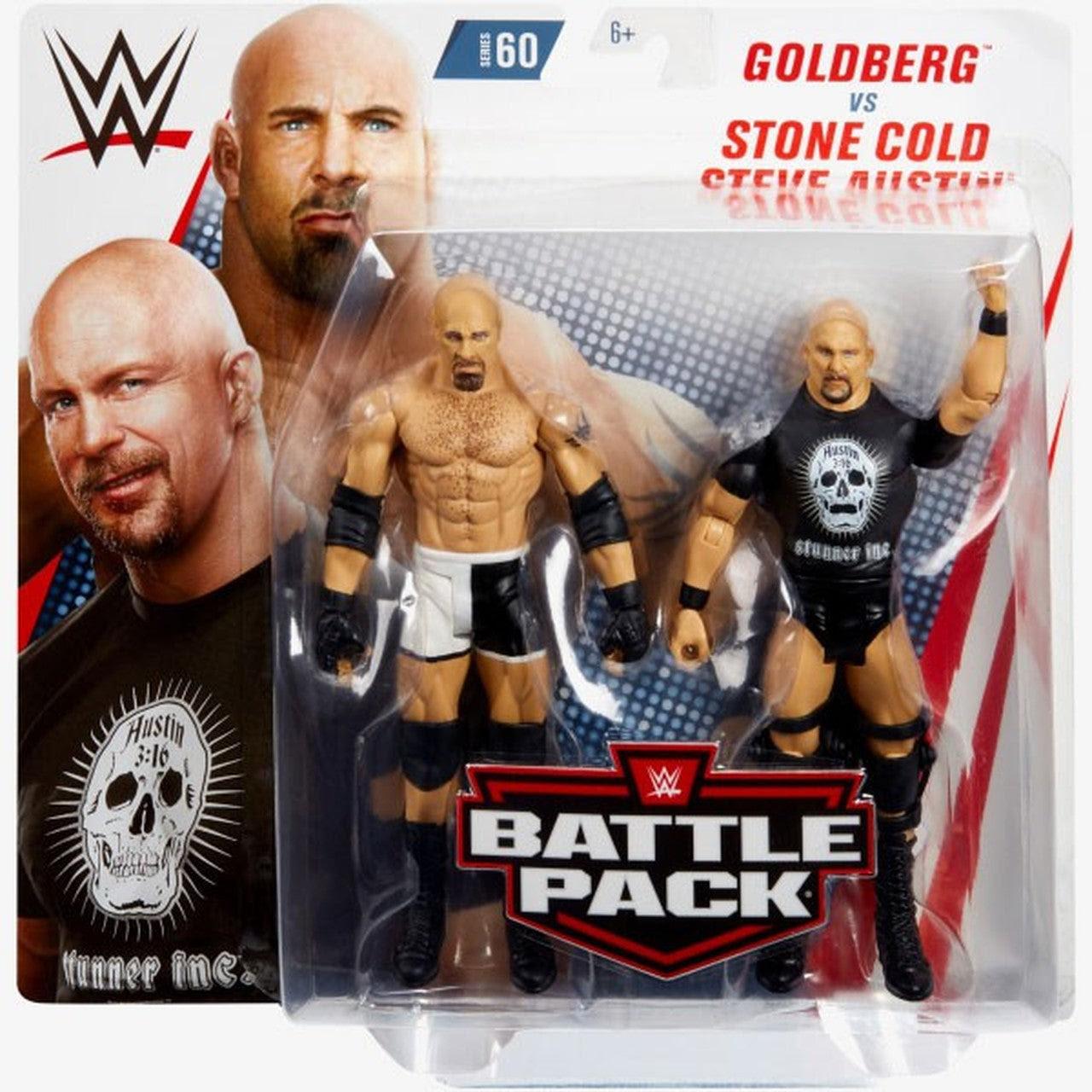 Image of WWE Battle Packs Series 60 - Goldberg & Stone Cold Steve Austin